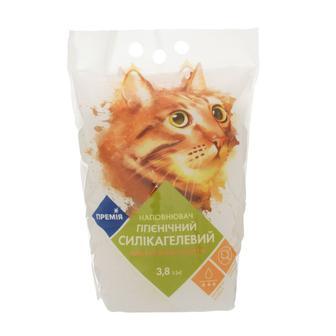 Наполнитель для туалета Премія гигиенич. силикагелев. для кошек 1.6кг