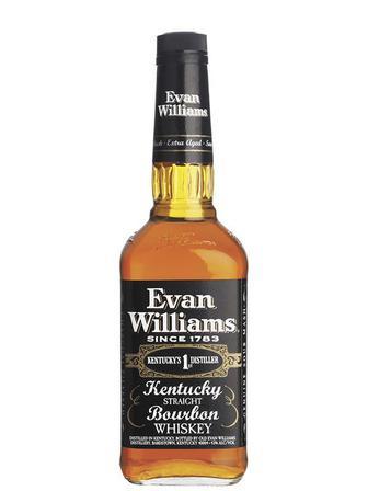 Бурбон Evan Williams Black 0.75 л