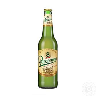 Пиво світле або темне Staropramen 0,5л