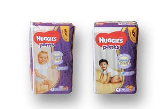 Підгузники-трусики дитячі гігієнічні Pants Jumbo (4)/(5)  Huggies 36 шт./34 шт.