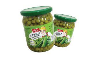 Горошок зелений консервований Варто 460 г
