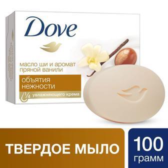 Крем-мыло Dove твердое Обьятья нежности с Маслом Ши 100 г