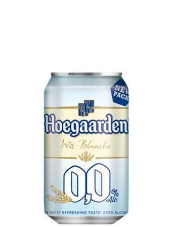 Безалкогольное пиво Hoegaarden 0.33л
