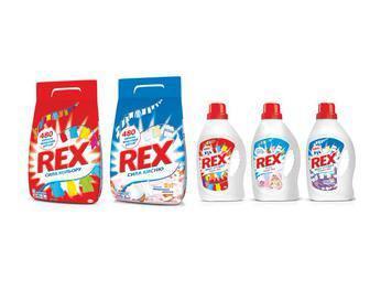 Порошок для астоматичного прання 3 кг, Гель для прання 2,32л/ 2,64л Rex