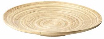 Блюдо NIKLAS діам.35см бамбук