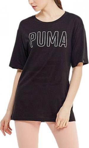 Футболка Puma FUSION Elongated Tee р. M чорний 85010801