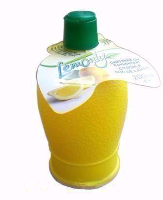 Сік лимонний концентрований  Lemonly 200 мл