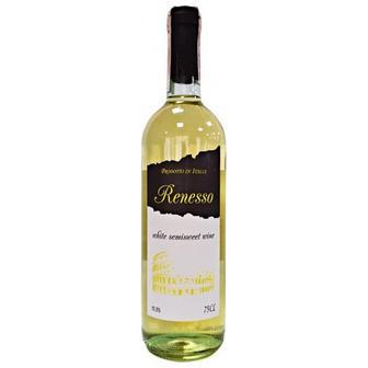 """Вино Vino Bianco Semisweet біл.н/ сол. 10,5%, Vino Semisweet черв.н/сол.10,5% , """"Renesso"""" 0,75л"""