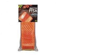 Семга слабосоленая филе-кусок на коже, Master Fish, 180г