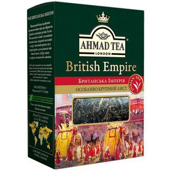 Чай Ahmad British Empire чорний крупний лист 100г