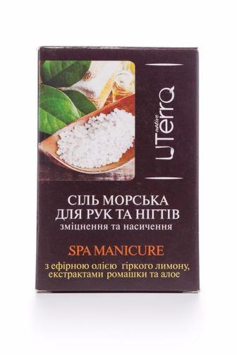 Соль для рук и ногтей UTerra Native Укрепление и насыщение, 100г