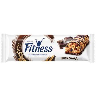 Батончик Nestle Fitness c цельными злаками и шоколадом, 23,5г