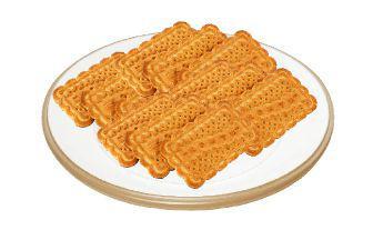 Печиво Буратіно з горіхом Конті 100 г