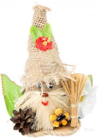 """Лялька інтер""""єрна Домовий з квіткою 51170619"""