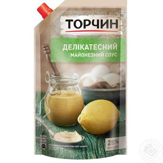 Майонезный соус Торчин Делікатесний 28% 160 г