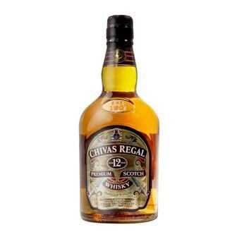 Виски Chivas Regal 12 лет 40%, Шотландия 0,5л