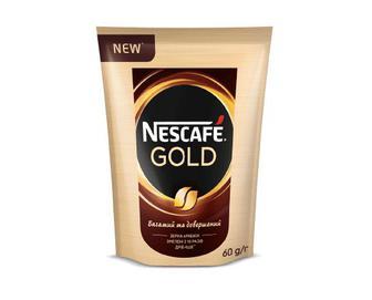 Кава розчинна Nescafe Gold, 60г