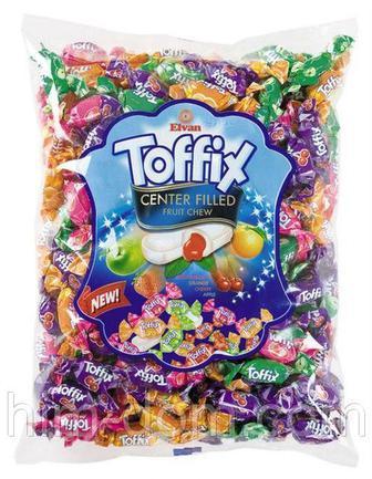 Жевательные фруктовые конфеты Toffix Elvan 1кг
