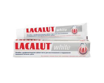 Паста зубна Lacalut White, 75мл