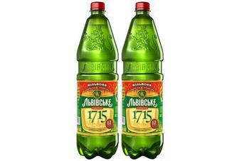 Пиво 1715 Львівське, 1,2л