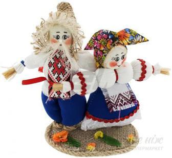 """Ляльки інтер""""єрні Українка з українцем 51166492"""