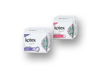 Прокладки гигиенические Ultra Normal/Super  Kotex  10/8 шт.
