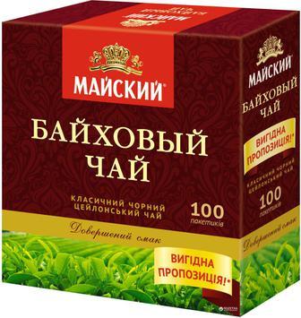 Чай Майський Байховий 100г