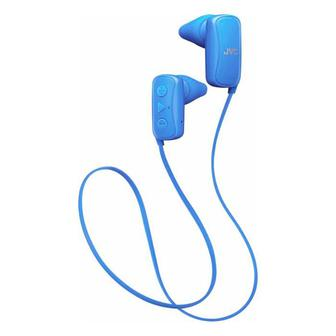 JVC Gumy Wireless In-Ear Headphones (HAF250BTA) Blue