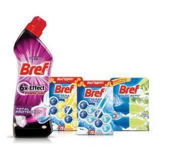 BREF Засоби для унітазу