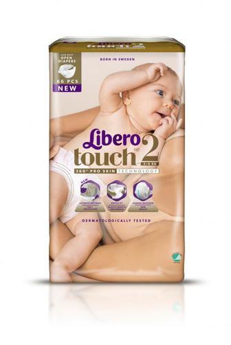 Подгузники LIBERO Touch р2 3-6 кг 66 шт
