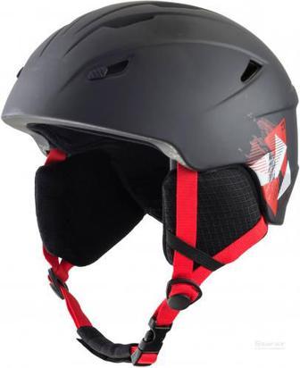 Гірськолижний шолом TECNOPRO Pulse Jr HS-016 270449 р. M чорний із червоним