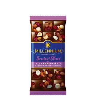 Шоколад молочный FruitsNuts Millennium 85 г