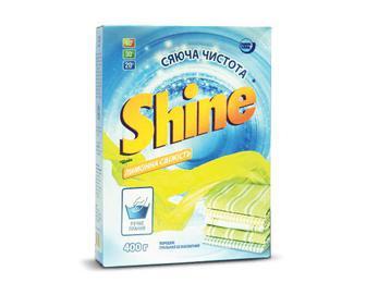 Порошок пральний Shine ручне прання «Лимонна свіжість» 400г