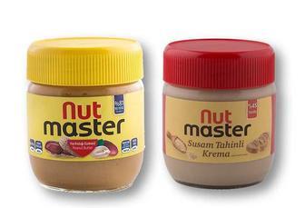 Скидка 22% ▷ Паста арахісова/ кунжутна «Nut Master» - 350/400 г