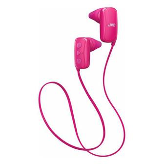 JVC Gumy Wireless In-Ear Headphones (HAF250BTP) Pink