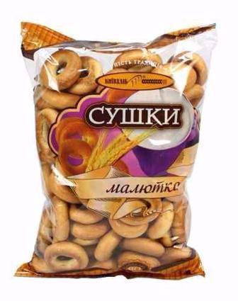 Сушки Київхліб Малютка, Київхліб, 340 г
