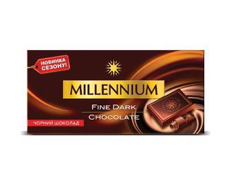 Шоколад Millennium чорний, 100 г