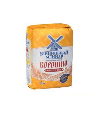 Борошно пшеничне Вінницький КХП №2, 2кг