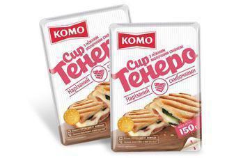 Сир напівтвердий 50% Комо Тенеро 220 г