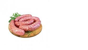 Колбаски Домашние свиные, КЛАСС, 100г