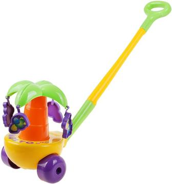 Іграшка Полесье Каталка Пальма з ручкою 7918