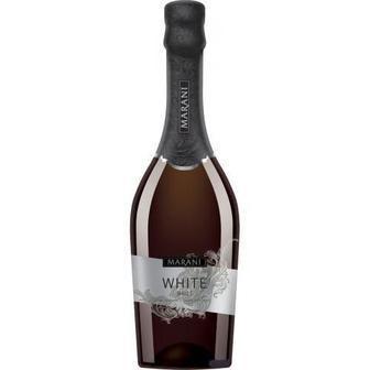 Шампанське Біле брют, рожеве напівсолодке Марані 0,75 л