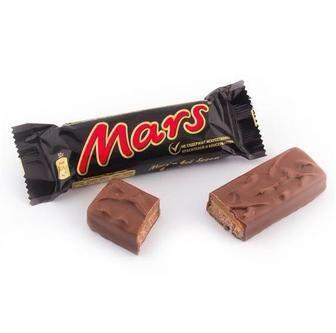 Скидка 24% ▷ Шоколадні батончики Mars 50 г