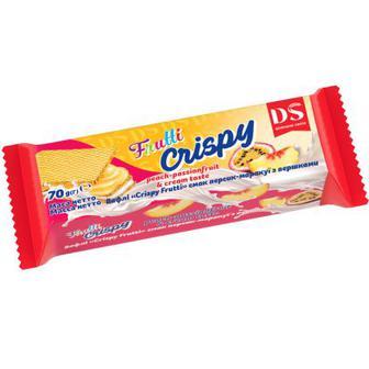 Вафлі Crispy frutti  Домашнє свято   70 г
