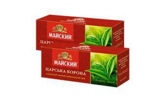 Чай чорний Царська корона Майський 25 шт