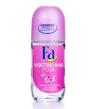 Дезодорант Fa шариковый женский Чувственная роза, 50мл