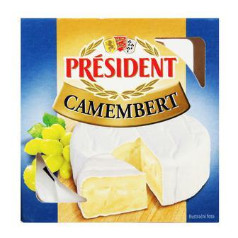 Сир Камамбер 60% President Польща 90 г