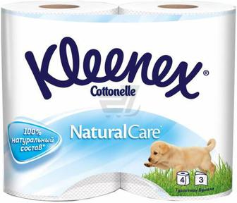 Туалетний папір Kleenex Nature Care 4 шт.