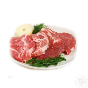 Стейк свинячий з ошийка охолоджений 1 кг