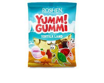 Цукерки Roshen Yummi Gummi Tortila land желейні, 100г